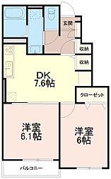 けやき坂ヒルズワン(けやき坂ヒルズ1)[1階]の間取り