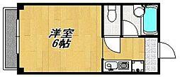 ビバリーハウス南福岡7A[202号室]の間取り