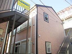 神奈川県横浜市西区南浅間町の賃貸アパートの外観