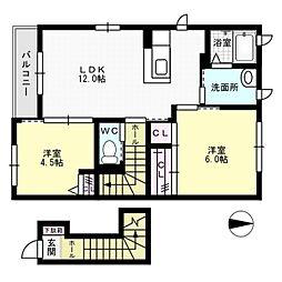メゾン8[2階]の間取り