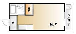 レオグランテ鈴蘭[2階]の間取り