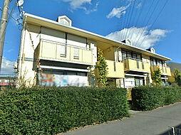 栃木県宇都宮市御幸本町の賃貸アパートの外観