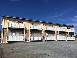 長野県小諸市大字和田の賃貸アパートの外観
