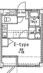 リヴェール弘明寺[4階]の間取り