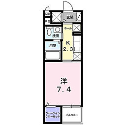 神奈川県横浜市泉区中田東3丁目の賃貸マンションの間取り