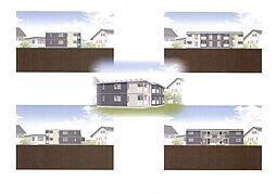 仮)野芥4丁目新築オートロック付アパート[204号室]の外観
