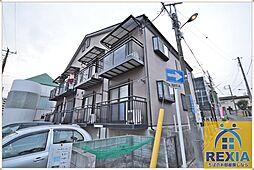 千葉県千葉市中央区弁天2丁目の賃貸アパートの外観