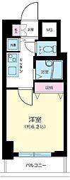 東京都中央区日本橋馬喰町1丁目の賃貸マンションの間取り