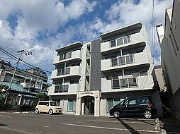北海道札幌市中央区南十五条西12丁目の賃貸マンションの外観