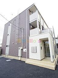 東京都昭島市緑町1の賃貸アパートの外観
