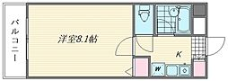 ST竹内ビル[5階]の間取り