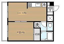 第3野本ビル[3階]の間取り