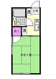 シティハイムコイズミA棟[2階]の間取り