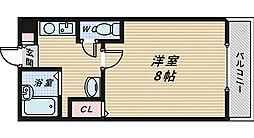 メゾンサイプレス2[3階]の間取り