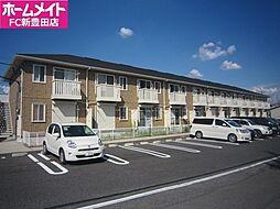 愛知県豊田市中根町永池丁目の賃貸アパートの外観