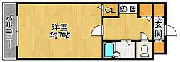 マリス南片江[301号室]の間取り