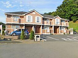 神奈川県伊勢原市東富岡の賃貸アパートの外観