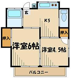 聖蹟桜ヶ丘駅 4.8万円