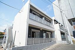 神奈川県藤沢市片瀬5丁目の賃貸アパートの外観