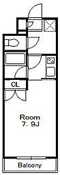 ラヴィアンローズ[4階]の間取り