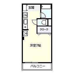レオンT[2階]の間取り