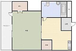 園田ビル[3階]の間取り