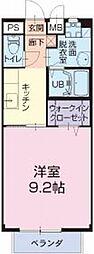 愛知県名古屋市緑区鳴海町の賃貸アパートの間取り