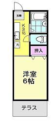 M&M成増2[103号室]の間取り