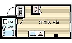 JPアパートメント吹田4[2階]の間取り
