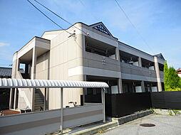 滋賀県長浜市八幡東町の賃貸アパートの外観
