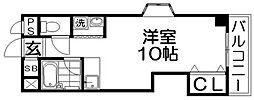 セゾン・ド香里[4階]の間取り
