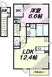 JR青梅線 東中神駅 徒歩16分の賃貸アパート