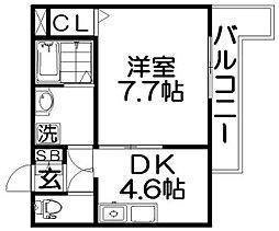 TAIHOレジデンス萱島[3階]の間取り
