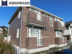 愛知県豊橋市大崎町字東里中の賃貸アパートの外観