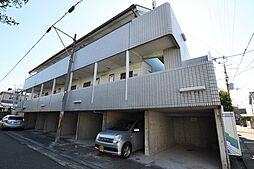 大阪府松原市高見の里1の賃貸アパートの外観