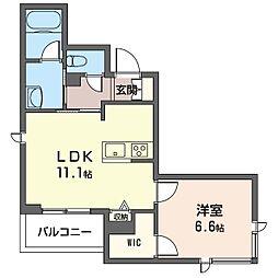 仮)青葉区新石川3丁目シャーメゾン[203号室]の間取り