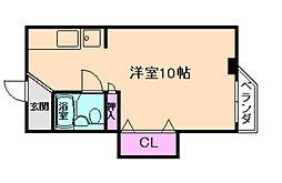 トキワマンション[5階]の間取り