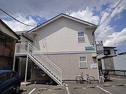 埼玉県八潮市大字古新田の賃貸アパートの外観
