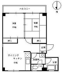 秀亜ビル[4階]の間取り