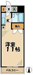 東京都多摩市落合2丁目の賃貸マンションの間取り