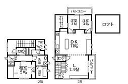 N-CUBE[2階]の間取り