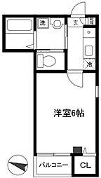宮本SKマンション[302号室]の間取り