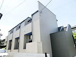 千葉県習志野市花咲1丁目の賃貸アパートの外観