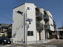 千葉県市原市五井中央西3丁目の賃貸アパートの外観