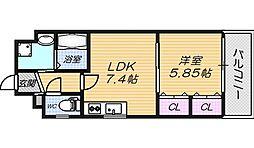 フィエルメンテ[3階]の間取り