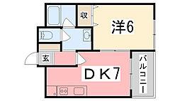 KEIマンション[5階]の間取り