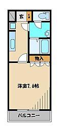 西武新宿線 狭山市駅 バス15分 根岸新道下車 徒歩6分の賃貸アパート 1階1Kの間取り