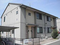 福島県郡山市富田町字下双又の賃貸アパートの外観