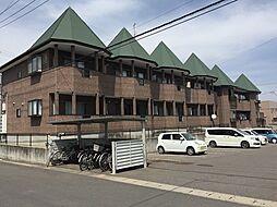 福島県郡山市富久山町八山田字向屋敷の賃貸アパートの外観