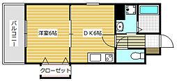 AVENIL  INOUE  22階Fの間取り画像